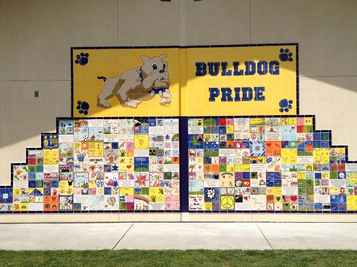 Bulldog Pride Tile Picture