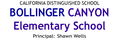 Bollinger Canyon Elementary Home